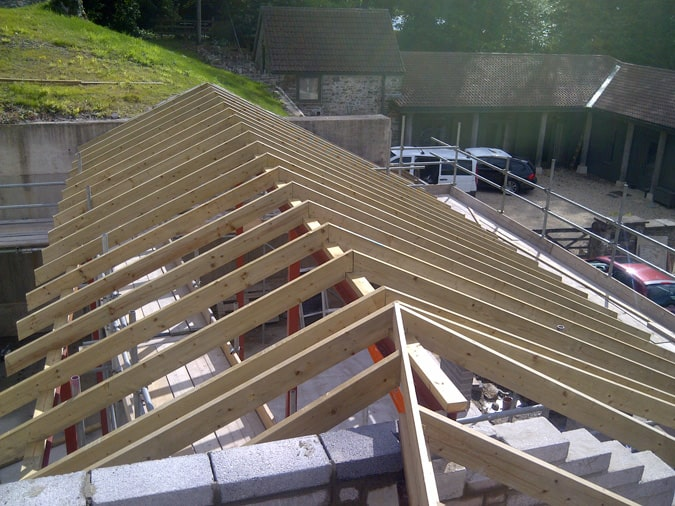 Bespoke Roofing Valley of Bath in Somerset